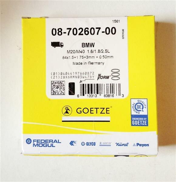 Kolbenringe Kolbenringsatz GOETZE ENGINE 08-782400-00